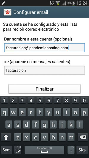 correo telefono android