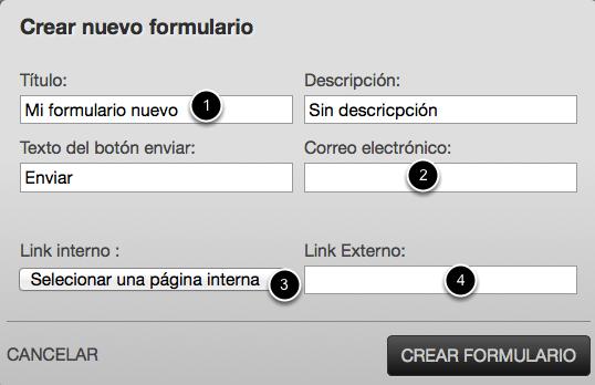 formulario contacto basekit