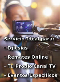 streaming television iglesias
