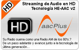 streaming aacplus