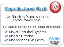 reproductores flash